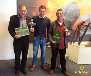 V.l.n.r. - Cor Roerdink (SKBG), Tom Sinderdinck (Achterkamp) en Cor Kevenaar (Graafschap College) - Dhr. Mondriaan (Sensus) ontbreekt helaas op de foto.