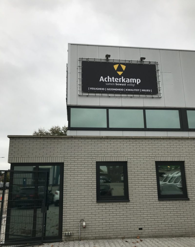 Achterkamp Trainingscentrum Zijkant